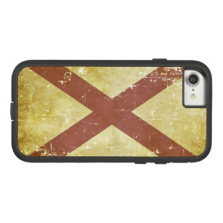 Worn Patriotic Alabama State Flag Case-Mate Tough Extreme iPhone 8/7 Case