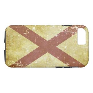 Worn Patriotic Alabama State Flag iPhone 8/7 Case