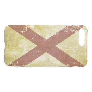 Worn Patriotic Alabama State Flag iPhone 8 Plus/7 Plus Case