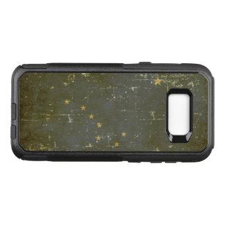 Worn Patriotic Alaska State Flag OtterBox Commuter Samsung Galaxy S8+ Case