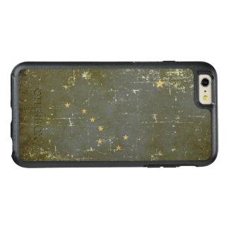 Worn Patriotic Alaska State Flag OtterBox iPhone 6/6s Plus Case