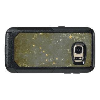 Worn Patriotic Alaska State Flag OtterBox Samsung Galaxy S7 Case