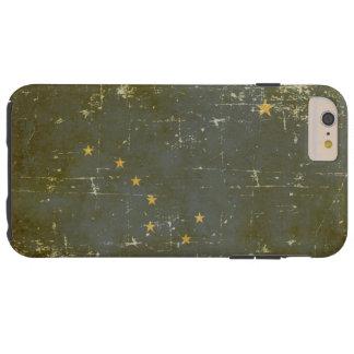 Worn Patriotic Alaska State Flag Tough iPhone 6 Plus Case
