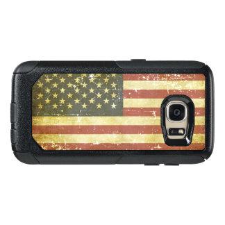 Worn Patriotic American Flag OtterBox Samsung Galaxy S7 Case