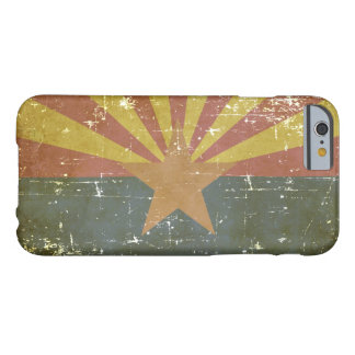 Worn Patriotic Arizona State Flag Barely There iPhone 6 Case