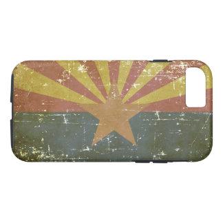 Worn Patriotic Arizona State Flag Case-Mate iPhone Case