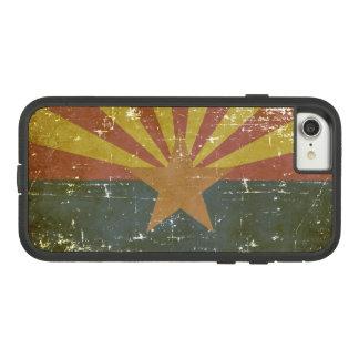 Worn Patriotic Arizona State Flag Case-Mate Tough Extreme iPhone 8/7 Case