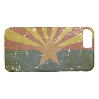 Worn Patriotic Arizona State Flag iPhone 8/7 Case
