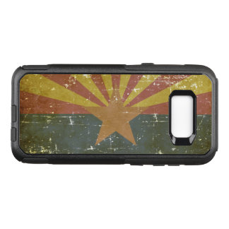 Worn Patriotic Arizona State Flag OtterBox Commuter Samsung Galaxy S8+ Case
