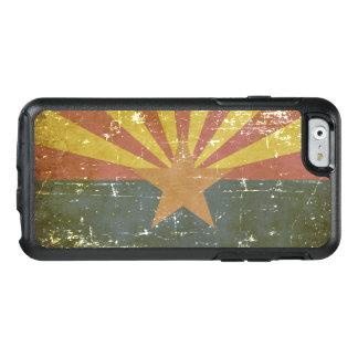 Worn Patriotic Arizona State Flag OtterBox iPhone 6/6s Case