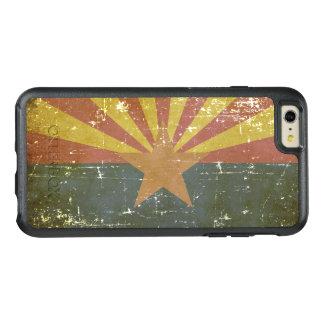 Worn Patriotic Arizona State Flag OtterBox iPhone 6/6s Plus Case
