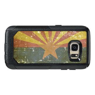 Worn Patriotic Arizona State Flag OtterBox Samsung Galaxy S7 Case