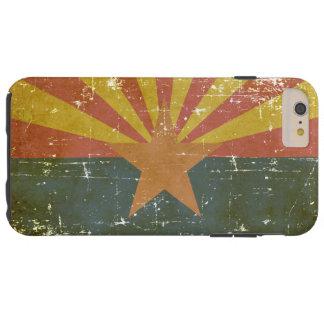 Worn Patriotic Arizona State Flag Tough iPhone 6 Plus Case