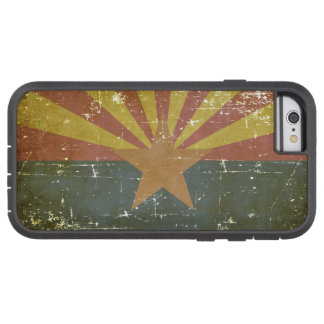 Worn Patriotic Arizona State Flag Tough Xtreme iPhone 6 Case