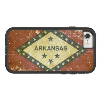 Worn Patriotic Arkansas State Flag Case-Mate Tough Extreme iPhone 8/7 Case