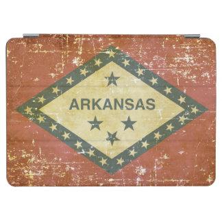 Worn Patriotic Arkansas State Flag iPad Air Cover
