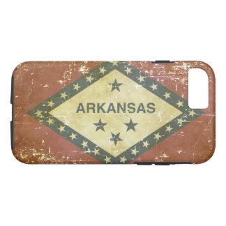 Worn Patriotic Arkansas State Flag iPhone 8/7 Case