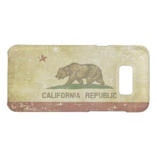 Worn Patriotic California State Flag Uncommon Samsung Galaxy S8 Plus Case
