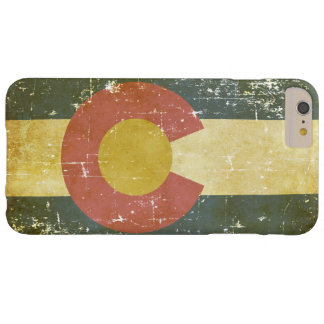 Worn Patriotic Colorado State Flag Barely There iPhone 6 Plus Case