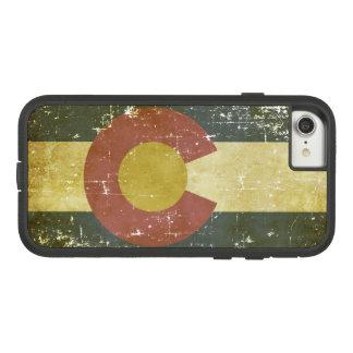 Worn Patriotic Colorado State Flag Case-Mate Tough Extreme iPhone 8/7 Case