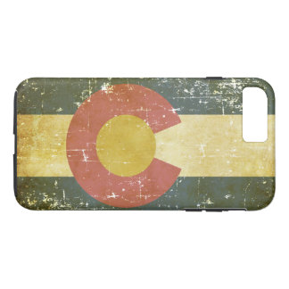 Worn Patriotic Colorado State Flag iPhone 8 Plus/7 Plus Case