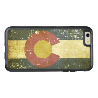 Worn Patriotic Colorado State Flag OtterBox iPhone 6/6s Plus Case