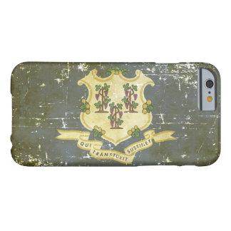 Worn Patriotic Connecticut State Flag Barely There iPhone 6 Case