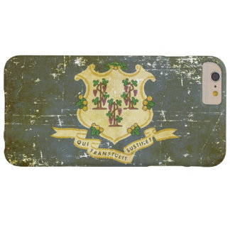 Worn Patriotic Connecticut State Flag Barely There iPhone 6 Plus Case
