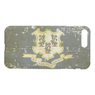 Worn Patriotic Connecticut State Flag iPhone 8 Plus/7 Plus Case