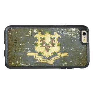 Worn Patriotic Connecticut State Flag OtterBox iPhone 6/6s Plus Case