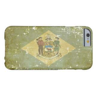 Worn Patriotic Delaware State Flag Barely There iPhone 6 Case