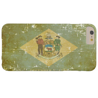 Worn Patriotic Delaware State Flag Barely There iPhone 6 Plus Case