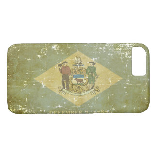 Worn Patriotic Delaware State Flag iPhone 8/7 Case