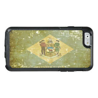 Worn Patriotic Delaware State Flag OtterBox iPhone 6/6s Case