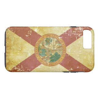 Worn Patriotic Florida State Flag Case-Mate iPhone Case