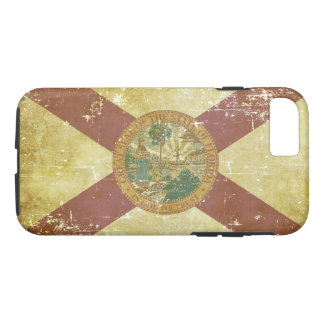 Worn Patriotic Florida State Flag iPhone 8/7 Case