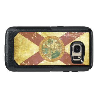 Worn Patriotic Florida State Flag OtterBox Samsung Galaxy S7 Case