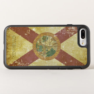 Worn Patriotic Florida State Flag OtterBox Symmetry iPhone 8 Plus/7 Plus Case