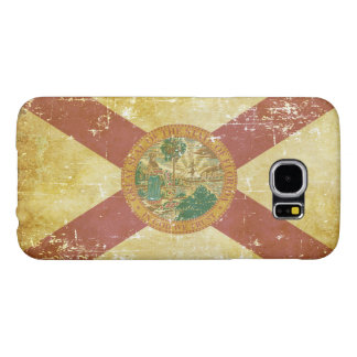 Worn Patriotic Florida State Flag Samsung Galaxy S6 Cases
