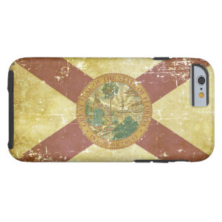 Worn Patriotic Florida State Flag Tough iPhone 6 Case