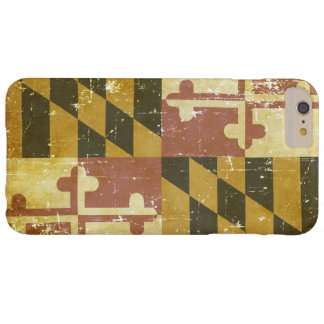 Worn Patriotic Maryland State Flag Barely There iPhone 6 Plus Case