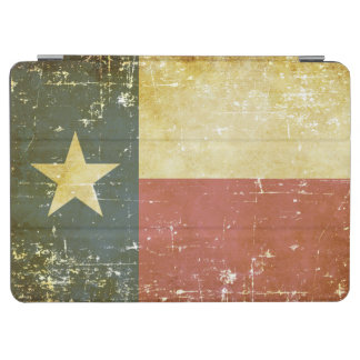 Worn Patriotic Texas State Flag iPad Air Cover