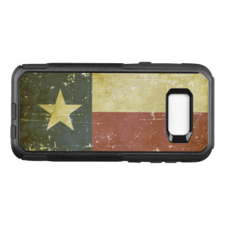 Worn Patriotic Texas State Flag OtterBox Commuter Samsung Galaxy S8+ Case