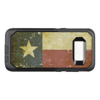 Worn Patriotic Texas State Flag OtterBox Commuter Samsung Galaxy S8 Case
