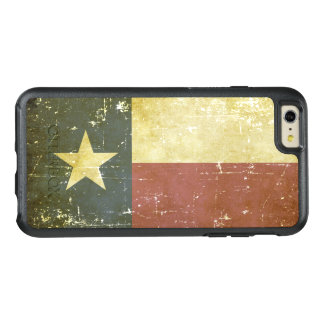 Worn Patriotic Texas State Flag OtterBox iPhone 6/6s Plus Case