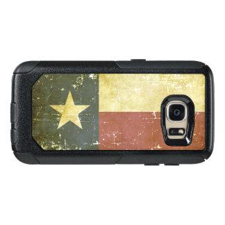 Worn Patriotic Texas State Flag OtterBox Samsung Galaxy S7 Case
