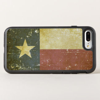 Worn Patriotic Texas State Flag OtterBox Symmetry iPhone 8 Plus/7 Plus Case