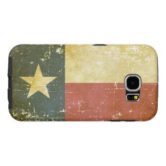 Worn Patriotic Texas State Flag Samsung Galaxy S6 Case