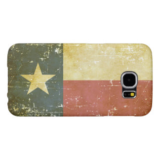 Worn Patriotic Texas State Flag Samsung Galaxy S6 Cases