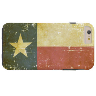 Worn Patriotic Texas State Flag Tough iPhone 6 Plus Case